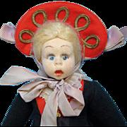 C1930s Lenci Gressoney Piemonte Felt Costume Mascotte Doll Tagged 310/83