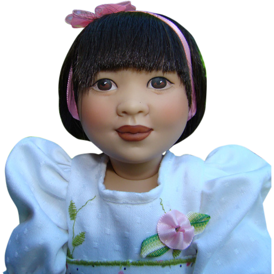 Helen Kish Aimee Lin Doll All Dressed Up Collection 1994 LE 2500 12.5 Inch