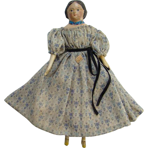 antique 19thc greiner style milliners model papier mache wood doll from americanbeautydolls on. Black Bedroom Furniture Sets. Home Design Ideas