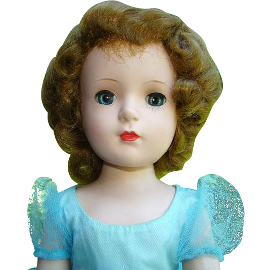 1950s madame alexander margaret face bridesmaid doll for Alex paint porcelain jewelry