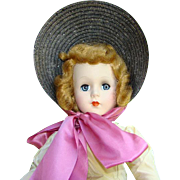 1952 Nancy Ann Style Show Doll 1502 Breath of Spring HP Strung 17 Inch