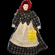 1947 Johanna Chavre Rare Utah Centennial Mormon Pioneer Doll Aunt Susan 8.5 Inch