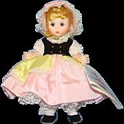 C1984 Madame Alexander Little Bo Peep Doll 483 Pristine in Box Straight Leg