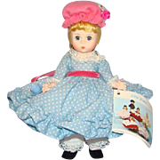 C1983 Madame Alexander Little Miss Muffet Doll 452 Pristine in Box Straight Leg