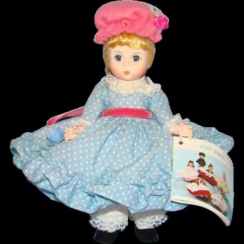 C1983 Madame Alexander Little Miss Muffet Doll 452 Pristine in Box Straight Leg