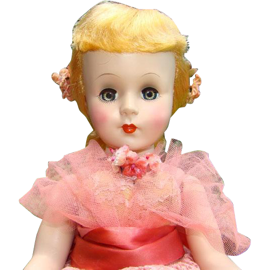 1953 Nancy Ann Style Show Doll Glamorous Hard Plastic Non-Walker #2404 Strung 17 Inch