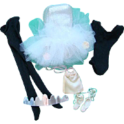 Barbie Doll Nutcracker Ballerina Outfit Tutu Leotards Tights Shoes Bag Tiara Sugar Plum Fairy Pristine