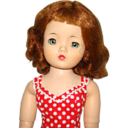 1950s Madame Alexander Cissy Doll Redhead Tosca Hair Beautifully Redressed 20 Inch