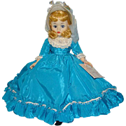 1968 Madame Alexander Melinda Portrettes Doll Cissette in Blue Taffeta Gown 10 Inch HP