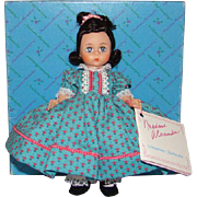 Madame Alexander 8 Inch Little Women Beth SL 1987-90 Mint in Box 406