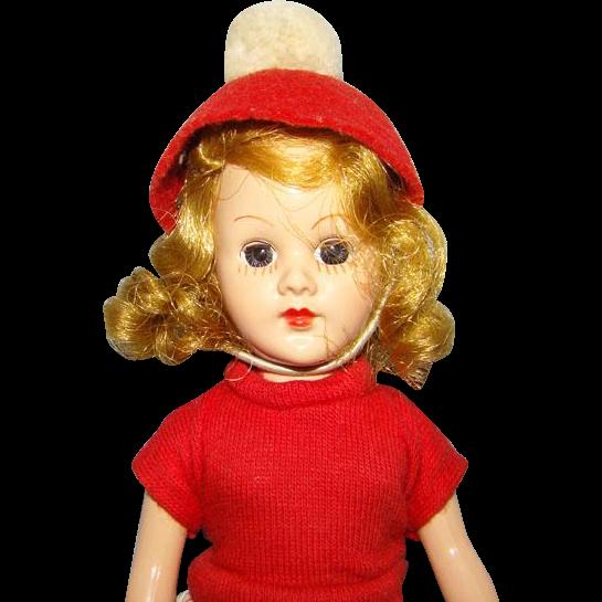 C1952 Sandra Sue Doll Richwood Toy Co Blond Original Clothing 8 Inch HP