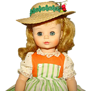 Madame Alexander Liesl Doll Sound of Music Series C1965-70 Large 14 Inch 1405