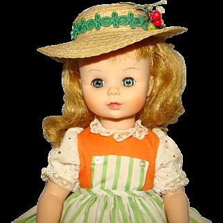 Madame Alexander Liesl Doll Sound of Music Series C1965-70 Large 14 Inch 1405