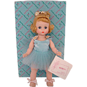 1963 Alexander-kins Blue Ballerina Doll 620 BKW in Box Madame Alexander Mint Condition