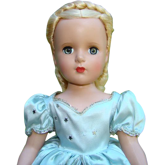 1950-51 Madame Alexander Cinderella Doll Margaret Face HP 18 Inch Beautiful