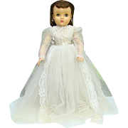 Madame Alexander Elise Bride Doll Brunette 15 Inch Jointed Ankles