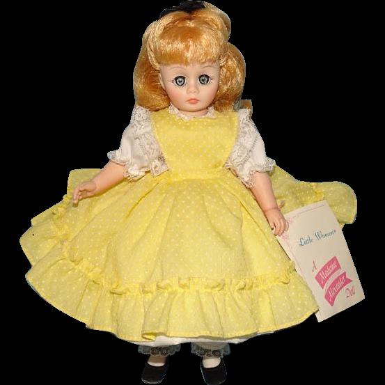 C1980 Madame Alexander Little Women Amy Doll Nancy Drew 12 Inch