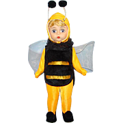 Madame Alexander 8 Inch Hard Plastic Bumble Bee Doll Wendy Face