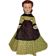 1950s Little Women Marme 14in Hard Plastic Doll Madame Alexander Margaret Face