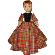 Vintage 1950s Madame Alexander Jo Doll Little Women HP Maggie Face 14 Inch
