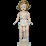 Madame Alexander Cissette Fashion Doll Blond Wig Dressed in Chemise C1958