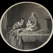 Antique 19th Century Engraving