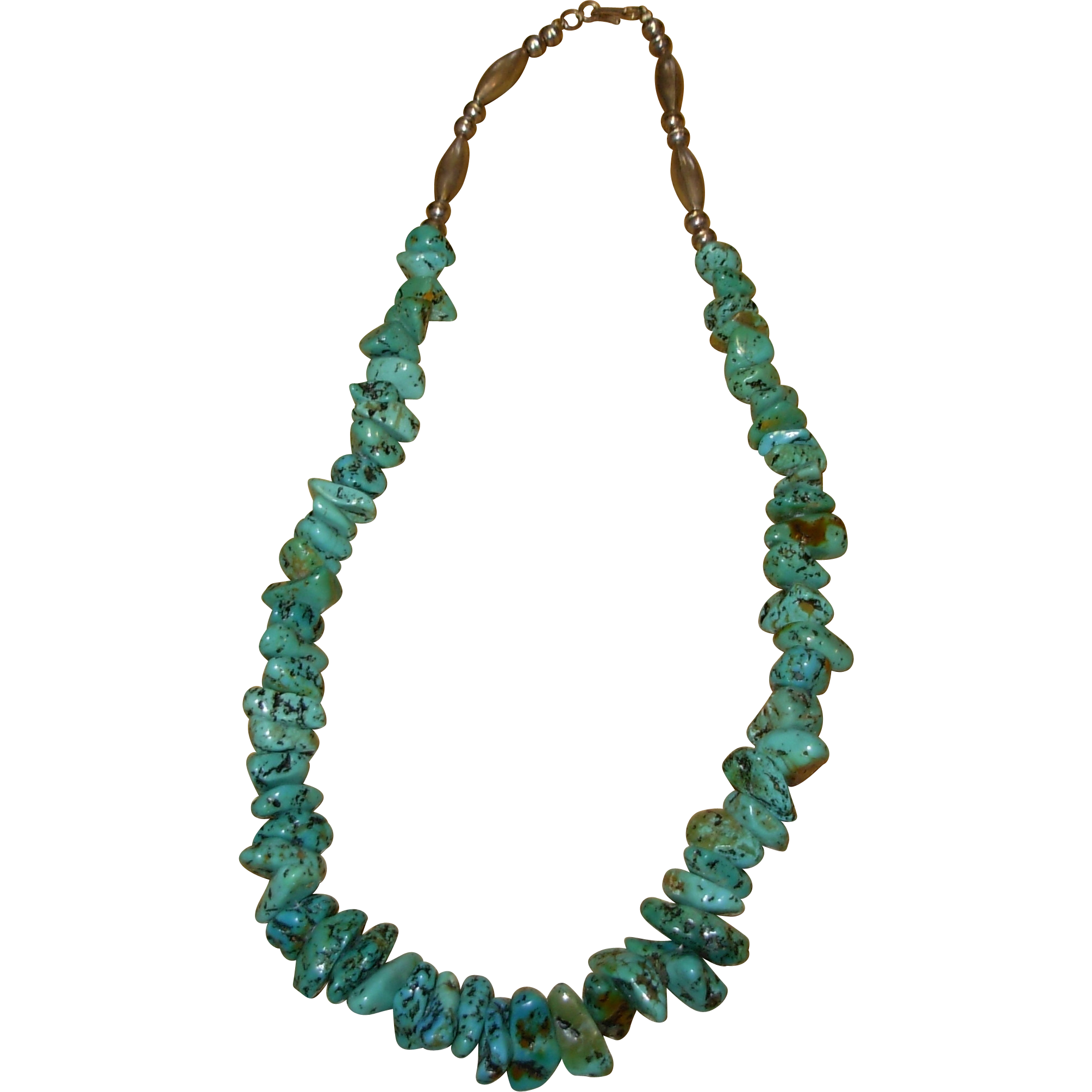 Vintage Turquoise Necklace 10