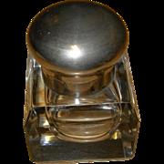 Vintage Crystal Inkwell