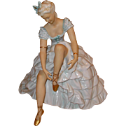 Vintage Porcelian Ballerina German Figurine - Red Tag Sale Item