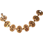 Vintage Sterling Silver Southwest Style Bracelet
