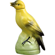 German Porcelain Figural Bird Perfume Bottle