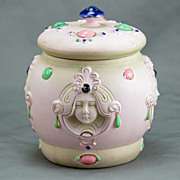 Shafer Vater Art Nouveau Porcelain Covered Jar