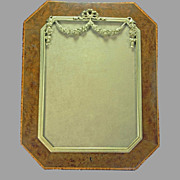 Wood Marquetry Picture Frame