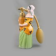 Limoges Porcelain Figural Perfume Atomizer