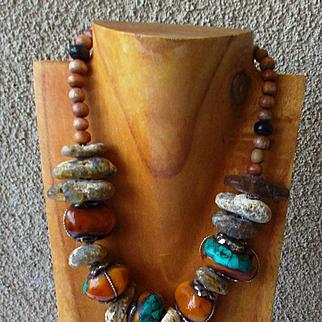 Old Silk Road Treasure Necklace
