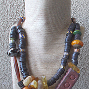 Primitive Wearable Art Necklace