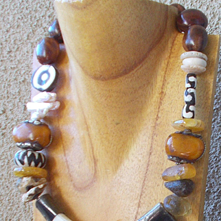 Primitive Statement Necklace