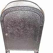 18c. English Plate Warmer