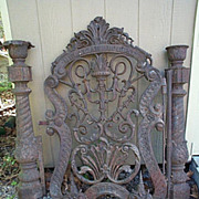 Cast Iron Gate dated 1862