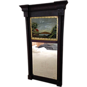 Federal Mirror circa 1850 with fluted columns