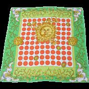 Versace Sun God and Medusa Silk Scarf. - Red Tag Sale Item