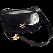 Rare Roberta Di Camerino Equestrian Themed Bag.  1960's.
