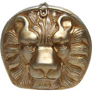 Timmy Woods Beverly Hills Wood Lion Head Bag.