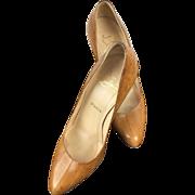 Christian Louboutin Eel Skin Heels.