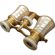 Opulent Mother of Pearl Opera Glasses. 1950's