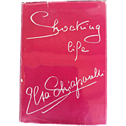 Shocking Life. The autobiography of Elsa Schiaparelli. 1st Edition. 1954.
