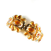 Juliana Topaz Givre Vintage Bracelet by DeLizza and Elster