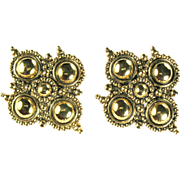 Gothic Design Barrera by Avon Earrings
