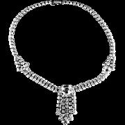 La Rel Crystal Rhinestone Choker Necklace