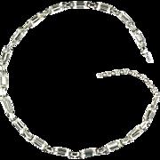 Crystal Baguette Vintage Choker Necklace